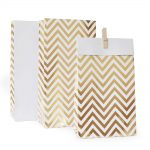 27 chevron-gold-treat-bag