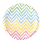 ILU-002-chevron-pastels-dessert-plate
