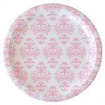 ILU-010 damask-pink-lrg-plate