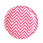 chevron-hot-pink-large-plate
