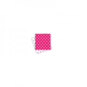 Polkadot Reversible Hot Pink Napkins