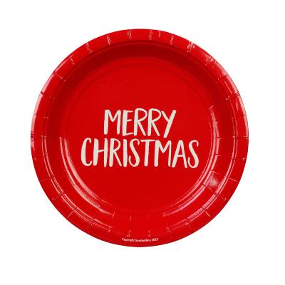 Merry Christmas Cake Plates
